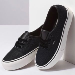 Vans Leather Snake Authentic Pro Women's Shoes